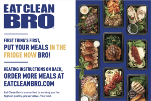 Eat Clean Bro Instructions