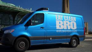 Eat Clean Bro Truck