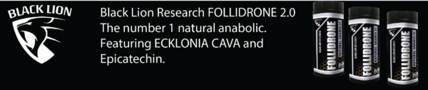 Follidrone 2.0 by Black Lion Research: The Featured Ecklonia Cava Supplement