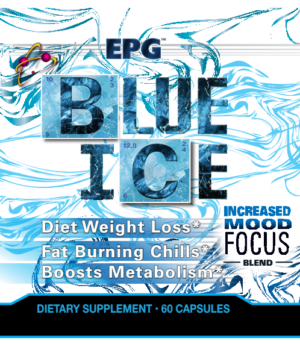EPG Blue Ice: Fat burner formulated to give you the fat burning chills!