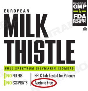 European Milk Thistle (Acetone-Free)