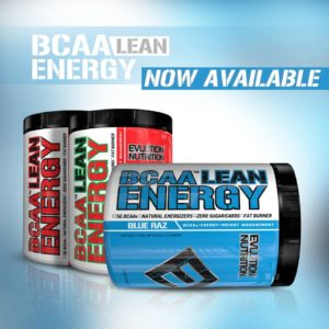 EVL BCAA Lean Energy Available