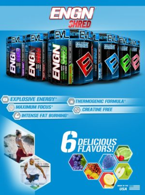 EVL ENGN Shred Flavors