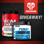 EVL Pump Mode BCAA Energy Stack Giveaway