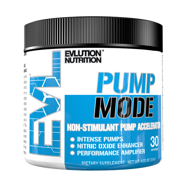 EVL PumpMode – Get Jacked with Added Pumps!