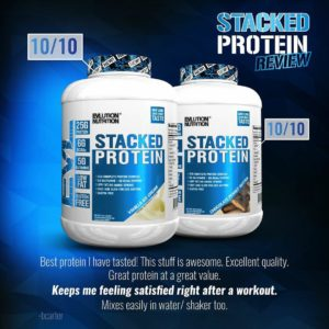 EVL Stacked Protein Review