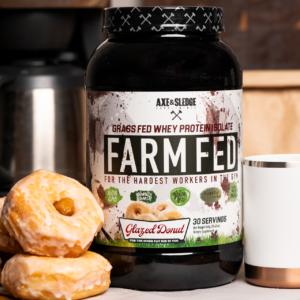 Farm Fed Glazed Donut