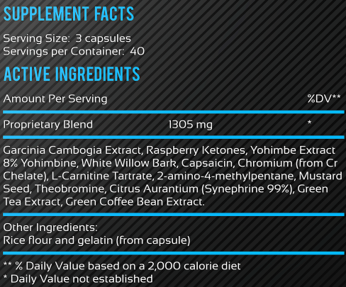 Fat Burner Superior Ingredients