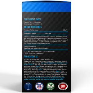 Fat Burner Superior Label
