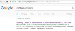 FDA Arimistane