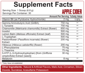 5% Nutrition KTFO Ingredients