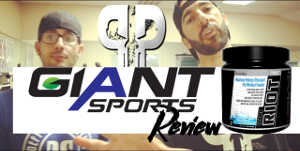 Giant RIOT Pre Workout Review