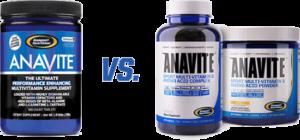 Gaspari Anavite New vs Old