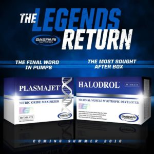 Gaspari Legends Return