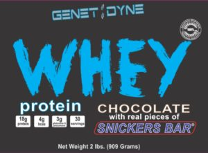 Genetidyne Whey Snickers