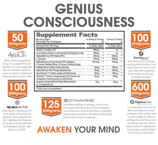 Genius Consciousness Facts