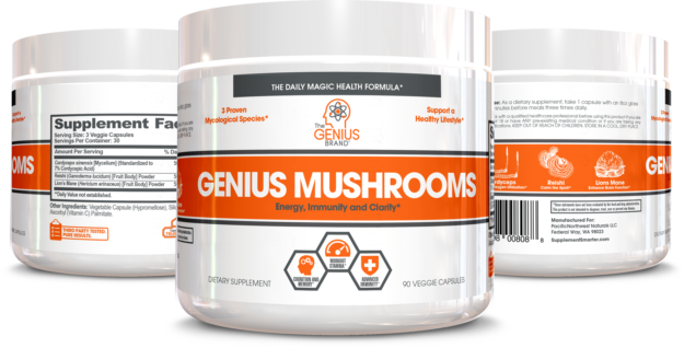 Genius Mushroom Bottles