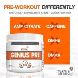 Genius Pre Workout Differently