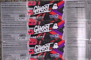 Ghost Burn Black Welch's Grape Juice