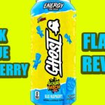Ghost Energy Drink Sour Patch Kids Blue Raspberry