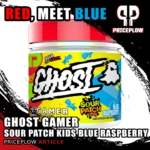 Ghost Gamer Sour Patch Kids Blue Raspberry