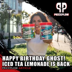 Ghost Iced Tea Lemonade