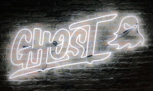 Ghost Neon Logo