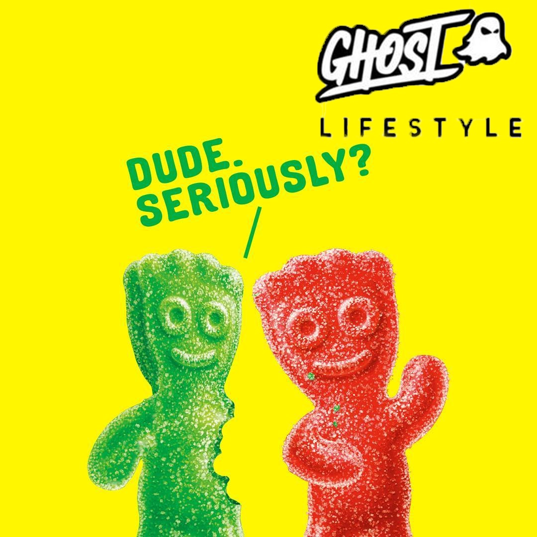 Ghost Licenses Sour Patch Kids and Swedish Fish with Project X