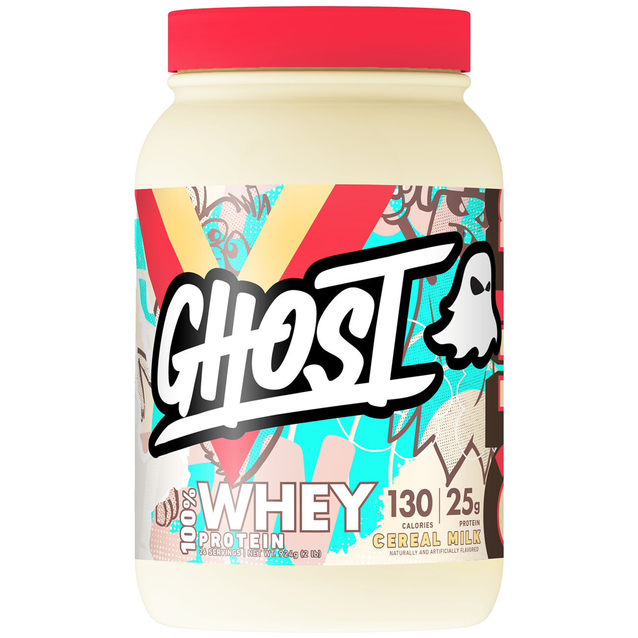 Ghost Whey: 100% Transparent Formula with Fun Flavors