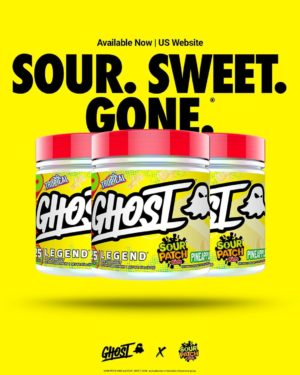 Ghost Sour Patch Kids Pineapple