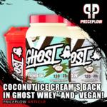 Ghost Vegan Whey Coconut Ice Cream