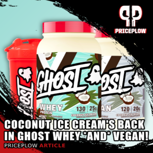 Ghost Vegan Coconut Ice Cream Finishes Summer Strong