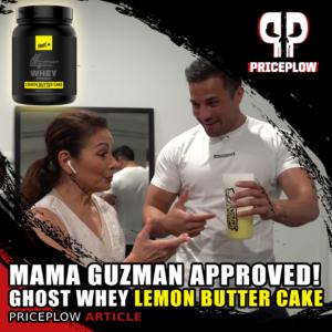 Ghost Whey Lemon Butter Cake