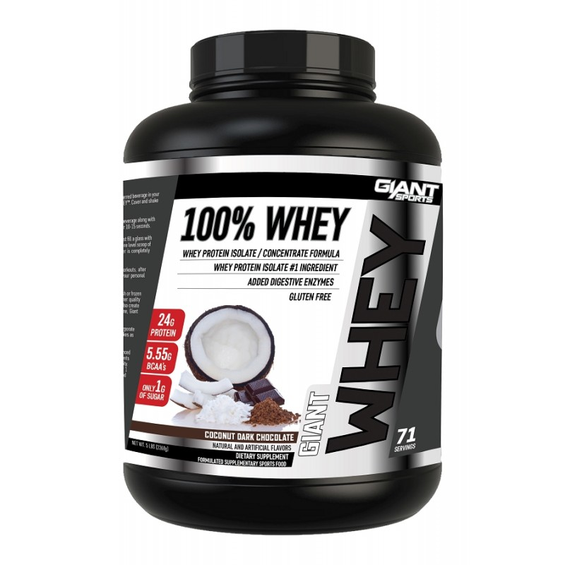 Giant Sports 100% Whey: Giant Finally Goes All-Whey