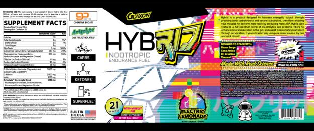 Glaxon Hybrid Label