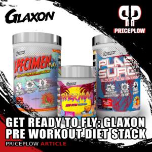Glaxon Pre Workout Diet Stack