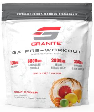 Granite GX Pre-Workout