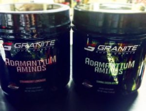 Granite Supplements Adamantium Aminos Flavors
