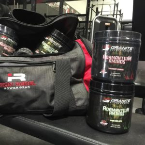 Granite Supplements Adamantium Aminos Gym Bag