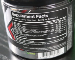 Granite Supplements HyStim Ingredients