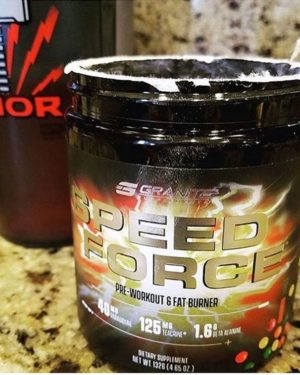 Granite Supplements Speed Force Close Up