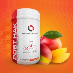 HAKNutrition PostHAK Peach Mango