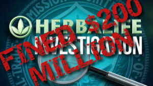 Herbalife Fined