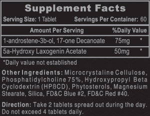 Hi-Tech 1-AD Ingredients