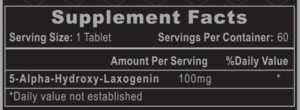 Hi-Tech Laxogenin 100 Ingredients