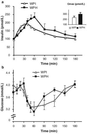 Hydrolyzed Whey Insulin Response