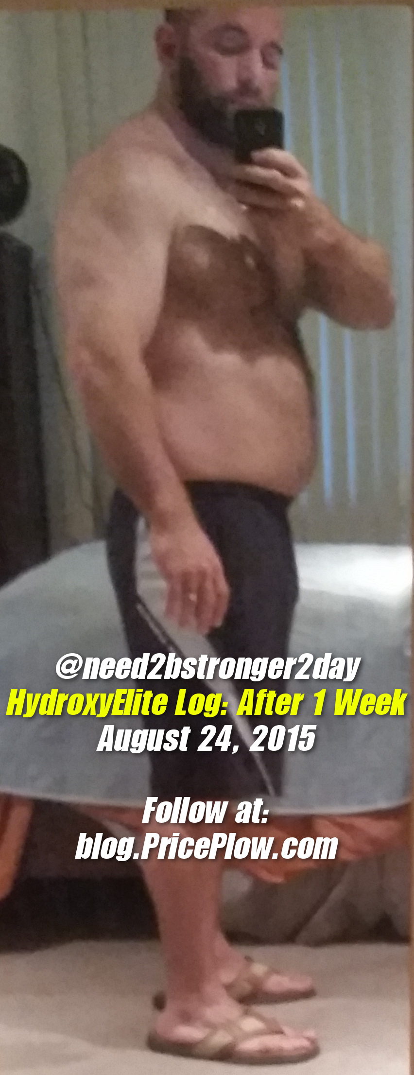 HydroxyElite Log Week 1 Picture #1