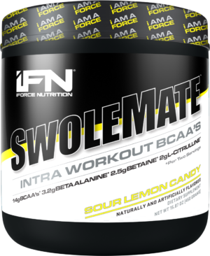 iForce SwoleMate Sour Lemon Candy