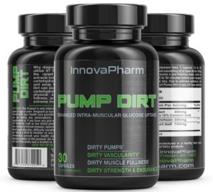 InnovaPharm Pump Dirt Caps Trio