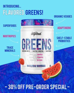 Inspired Nutra Greens Benefits